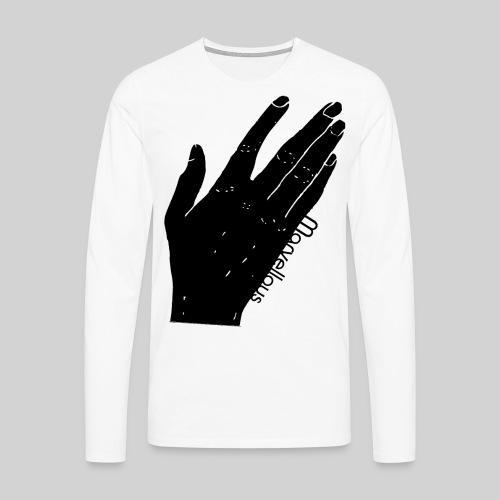 Marvellous Hand - Männer Premium Langarmshirt
