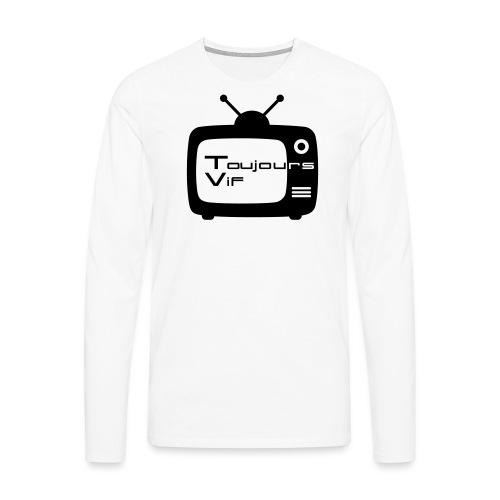 TVLUCA - Mannen Premium shirt met lange mouwen