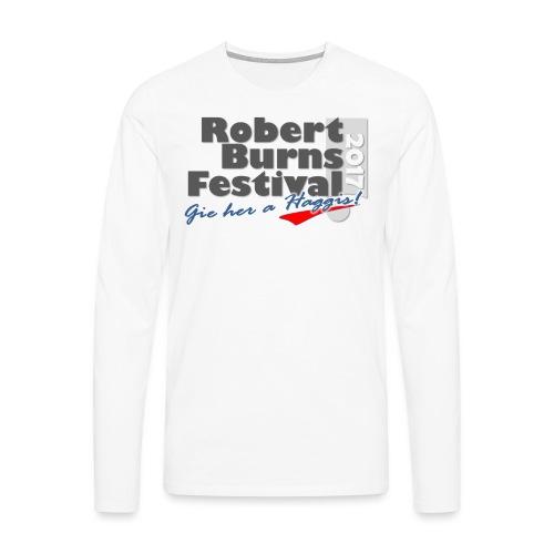 RBFlogo2017 - Långärmad premium-T-shirt herr