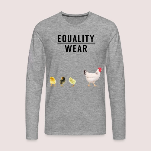 Small Chicken Edition - Men's Premium Longsleeve Shirt
