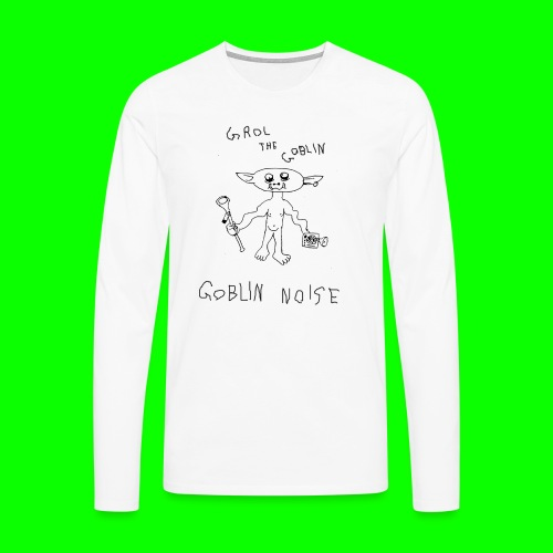 Goblin Noise - Men's Premium Longsleeve Shirt