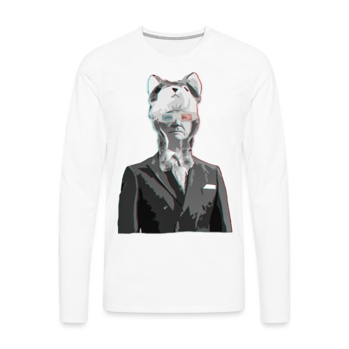 knugen 123124 png - Långärmad premium-T-shirt herr