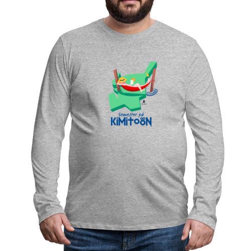 Åboland × Eva: Semester på Kimitoön - Miesten premium pitkähihainen t-paita