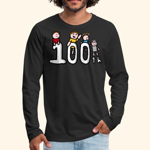 100th Video - Men's Premium Longsleeve Shirt