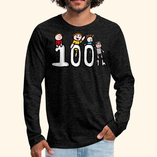100th Video - Men's Premium Longsleeve Shirt