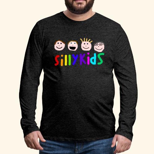 Sillykids Logo - Men's Premium Longsleeve Shirt