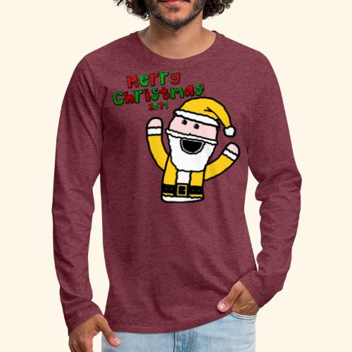 Santa Kid (Christmas 2019) - Men's Premium Longsleeve Shirt