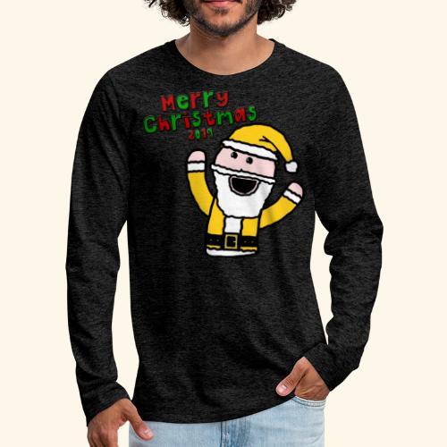 Santa Kid (Christmas 2019) - Men's Premium Longsleeve Shirt