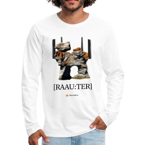 RAAU:TER - Långärmad premium-T-shirt herr