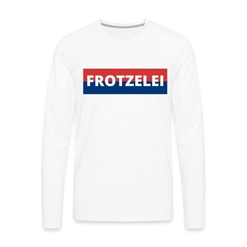 FROTZELEI - Polizeikontrolle Geschenk Autofahrer - Männer Premium Langarmshirt