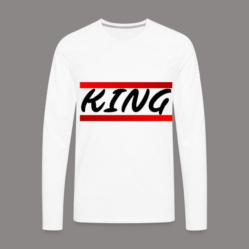 king - Männer Premium Langarmshirt