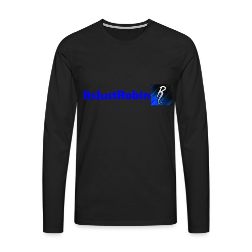 Eerste design. - Men's Premium Longsleeve Shirt