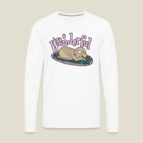 Wonderful - Camiseta de manga larga premium hombre