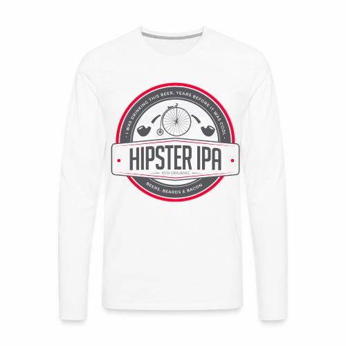 Hipster IPA - Men's Premium Longsleeve Shirt