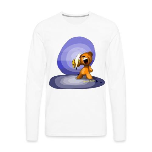 Bear Banana - T-shirt manches longues Premium Homme