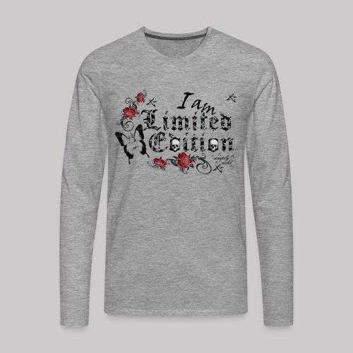 simply wild limited Edition on white - Männer Premium Langarmshirt