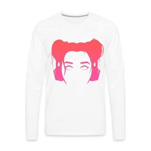 OANSVARIG - PEACH PINK - Långärmad premium-T-shirt herr