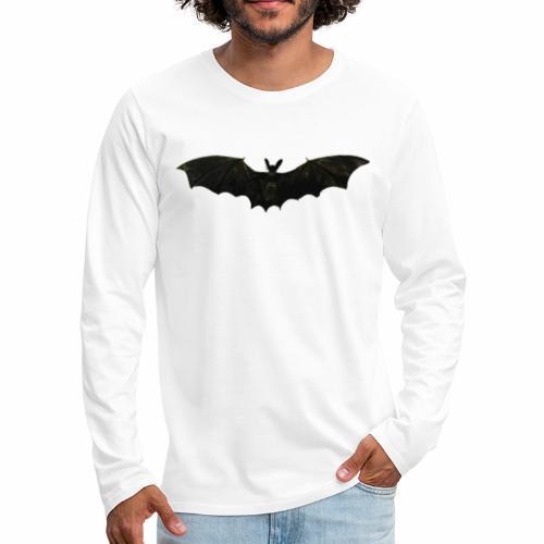 Fliegende Fledermaus - Männer Premium Langarmshirt