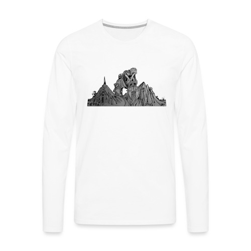 The Watcher Awakes - Men's Premium Longsleeve Shirt