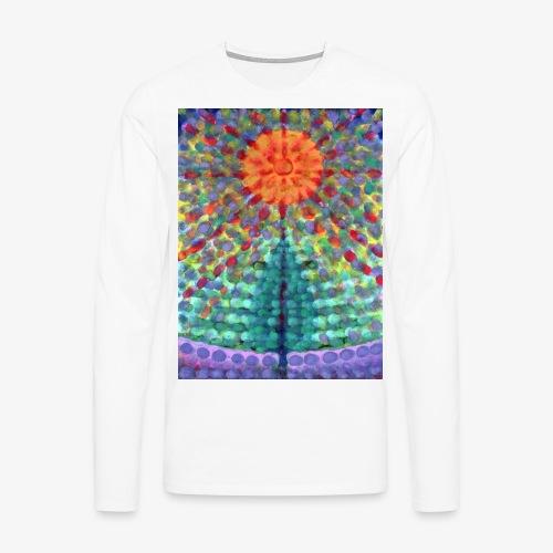 Miraż - Koszulka męska Premium z długim rękawem