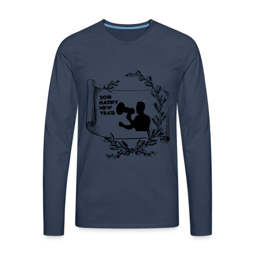 Happy New Year 2018 - T-shirt manches longues Premium Homme