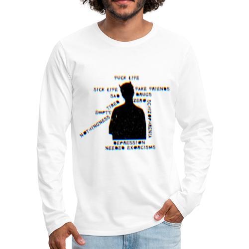 Sick Life (black) - T-shirt manches longues Premium Homme