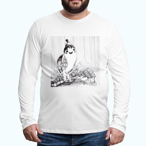 Happy Unicorn - Men's Premium Longsleeve Shirt