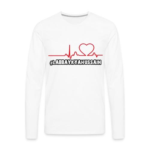 HeartBeat - Men's Premium Longsleeve Shirt