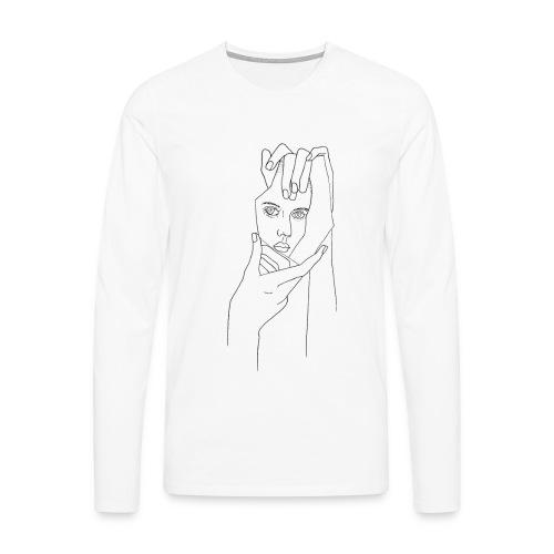 Spiegelsplitter - Männer Premium Langarmshirt