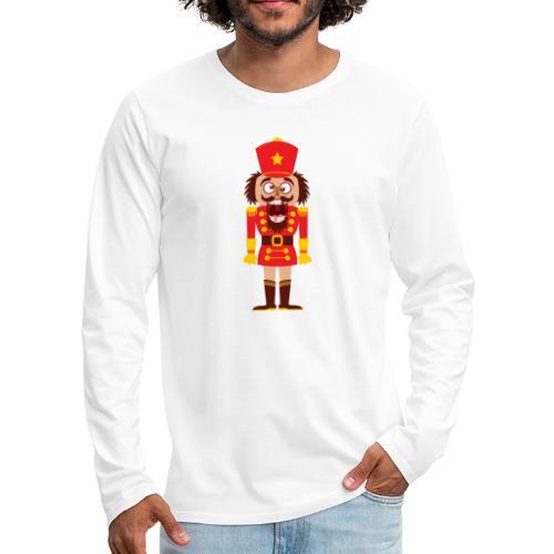 A Christmas nutcracker is a tooth cracker - Men's Premium Longsleeve Shirt
