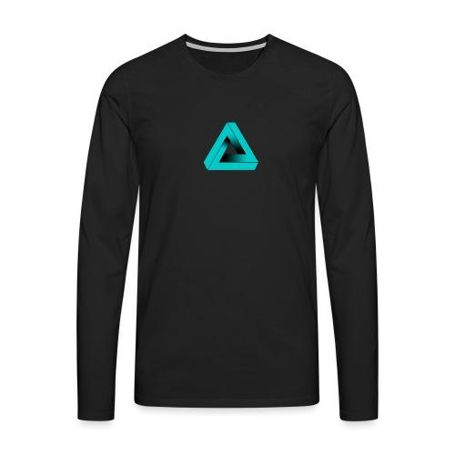 Impossible Triangle - Men's Premium Longsleeve Shirt
