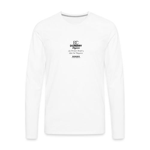 Go Beyond Elegance Image T Shirt design - Men's Premium Longsleeve Shirt