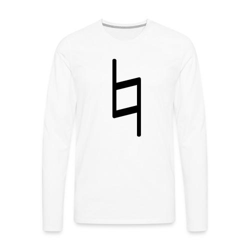 holy brand shirt, black - Männer Premium Langarmshirt
