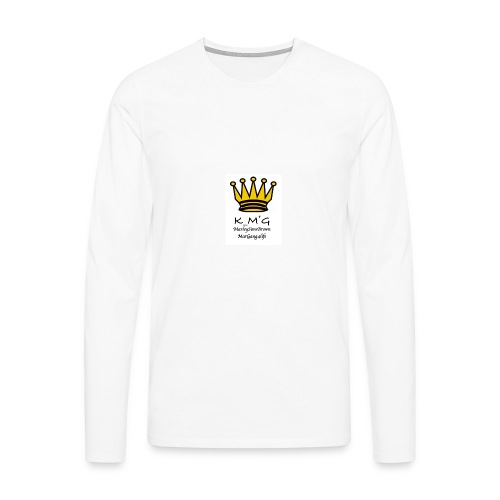 MarleySimsBrown(king_MarleyTHEgreat) - Men's Premium Longsleeve Shirt