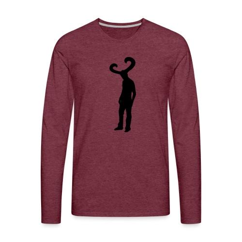 KC - Mannen Premium shirt met lange mouwen