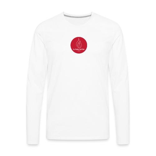 Logo Notte dei falo 4 - Maglietta Premium a manica lunga da uomo