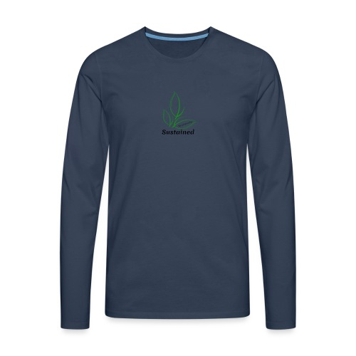 Sustained Sweatshirt - Herre premium T-shirt med lange ærmer