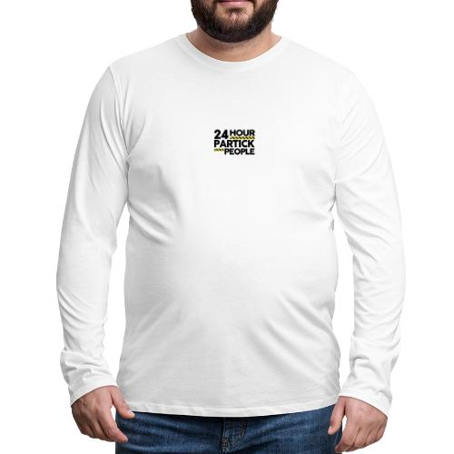 24 Hour Partick People - Men's Premium Longsleeve Shirt