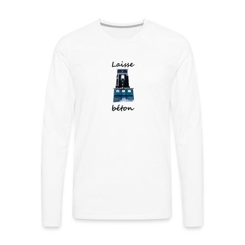 laisse_b--ton-png - T-shirt manches longues Premium Homme