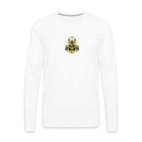 vaakuna, iso - Miesten premium pitkähihainen t-paita