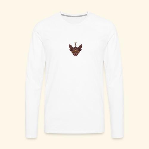 Bastet - Camiseta de manga larga premium hombre