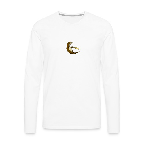 Classic Song of the Paddle otter logo - Men's Premium Longsleeve Shirt
