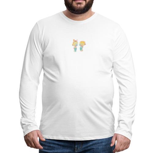 Bambini innamorati - Maglietta Premium a manica lunga da uomo