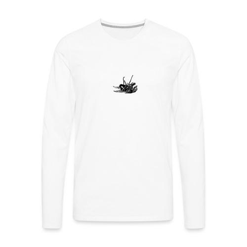 mouche morte - T-shirt manches longues Premium Homme