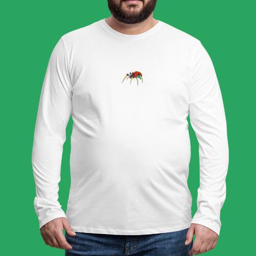 spider man frankenstein monster computer icons car - Maglietta Premium a manica lunga da uomo