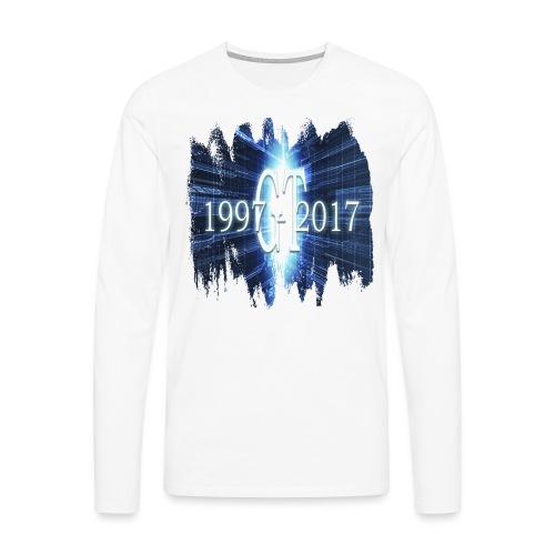 GuttaTur 20 years - Premium langermet T-skjorte for menn
