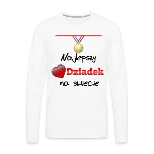 nadruk_rodzinne_01 - Koszulka męska Premium z długim rękawem
