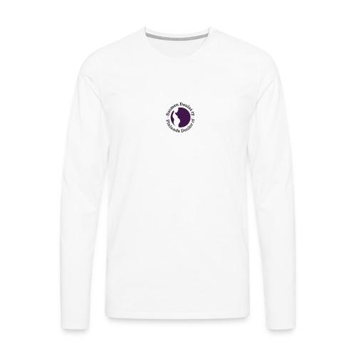 Suomen Doulat ry logo - Miesten premium pitkähihainen t-paita