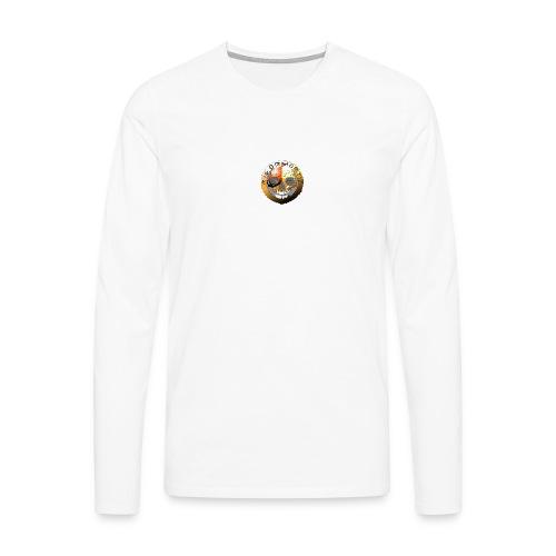 Rigormortiz Metallic Orange Design - Men's Premium Longsleeve Shirt
