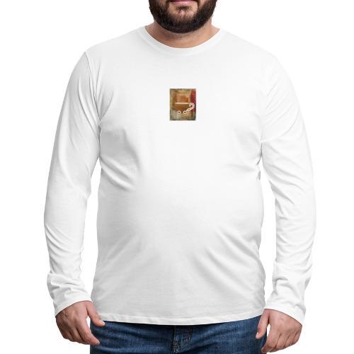 vintage coffee - Männer Premium Langarmshirt